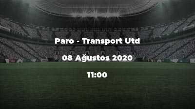 Paro - Transport Utd