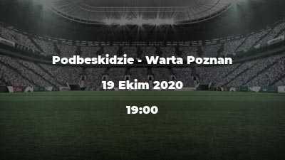 Podbeskidzie - Warta Poznan