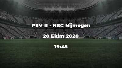 PSV II - NEC Nijmegen