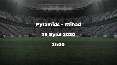 Pyramids - Ittihad