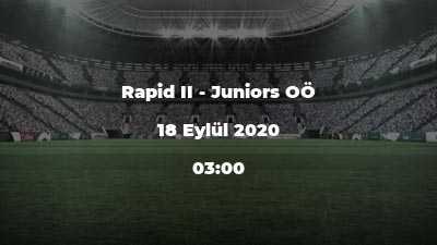 Rapid II - Juniors OÖ