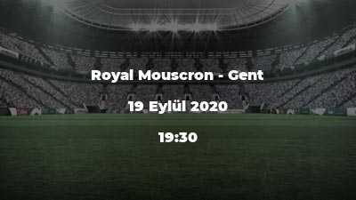 Royal Mouscron - Gent