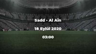 Sadd - Al Ain