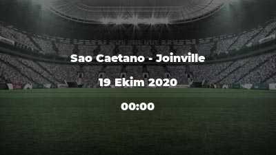 Sao Caetano - Joinville