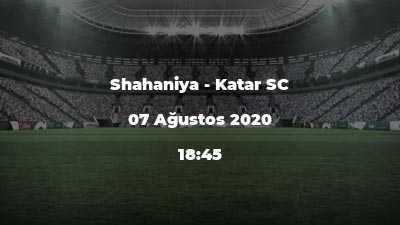 Shahaniya - Katar SC
