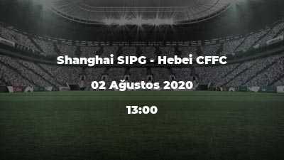 Shanghai SIPG - Hebei CFFC