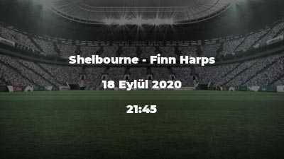 Shelbourne - Finn Harps