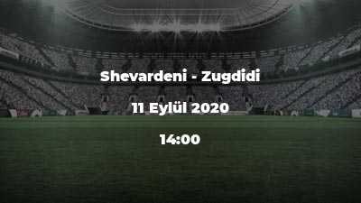 Shevardeni - Zugdidi
