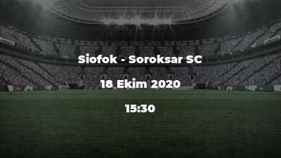 Siofok - Soroksar SC
