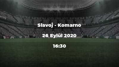 Slavoj - Komarno