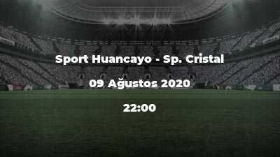 Sport Huancayo - Sp. Cristal