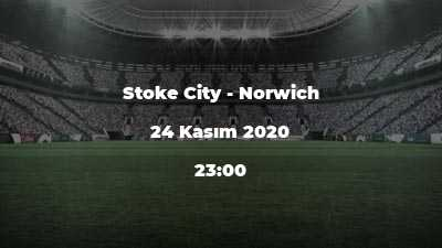 Stoke City - Norwich
