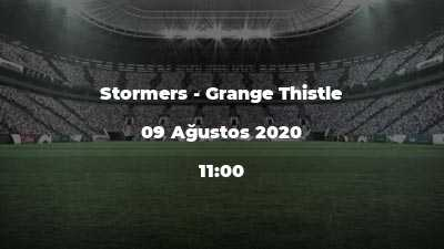 Stormers - Grange Thistle