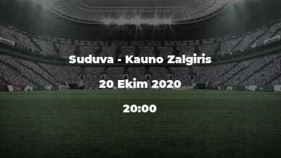 Suduva - Kauno Zalgiris