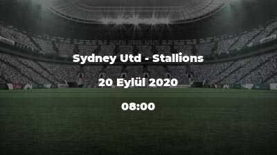 Sydney Utd - Stallions