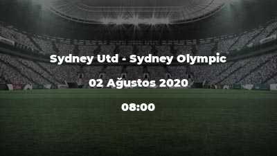 Sydney Utd - Sydney Olympic