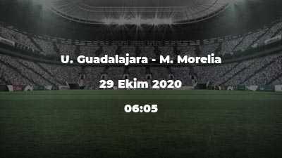 U. Guadalajara - M. Morelia