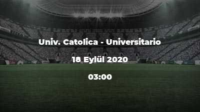 Univ. Catolica - Universitario