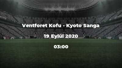 Ventforet Kofu - Kyoto Sanga