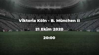 Viktoria Köln - B. München II
