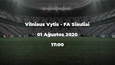 Vilniaus Vytis - FA Siauliai