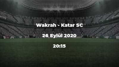 Wakrah - Katar SC
