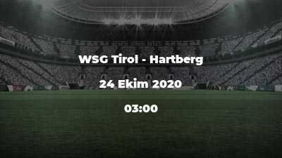 WSG Tirol - Hartberg
